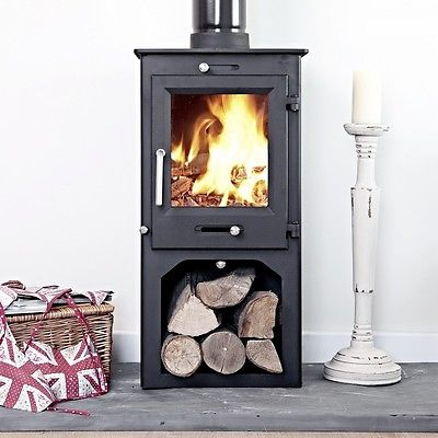 Sentinel Ottawa Compact 6KW With Log Store - Wood Stove Fireplace Wholesale - South Africa