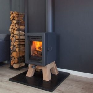 Wanders Oak Wood base - Wood Stove Fireplace Wholesale - South Africa