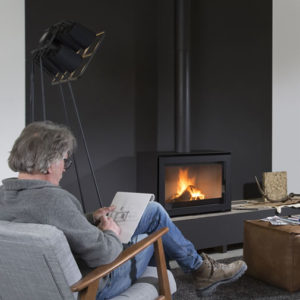 Wanders Smart Black Edition - Wood Stove Fireplace Wholesale - South Africa