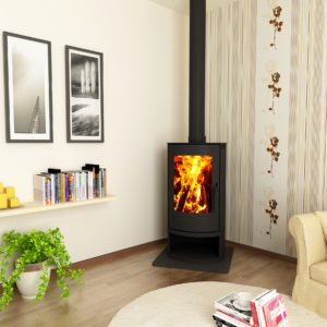 Canature Cosmo Floorstanding - Wood Stove Fireplace Wholesale - South Africa