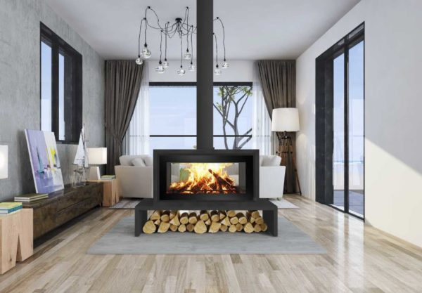Canature P11 Free Standing - Wood Stove Fireplace Wholesale - South Africa