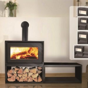 Canature Taurus P3F Free Standing - Wood Stove Fireplace Wholesale - South Africa