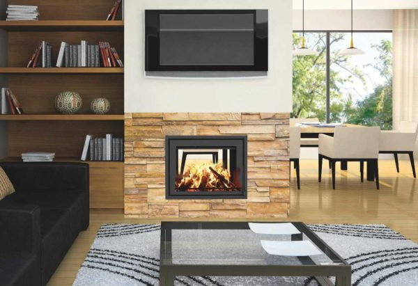 Canature Taurus SI Double Sided Insert - Wood Stove Fireplace Wholesale - South Africa